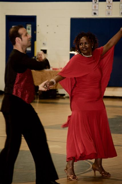 The Power of a Dance instructor's Index Finger | Ballroom Dancing Lovers